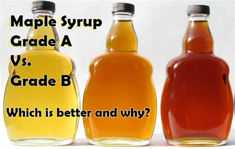 Cleansing Diet Detox Maple Syrup by Grade A Vs Grade B Maple Syrup For Master Cleanse Diet