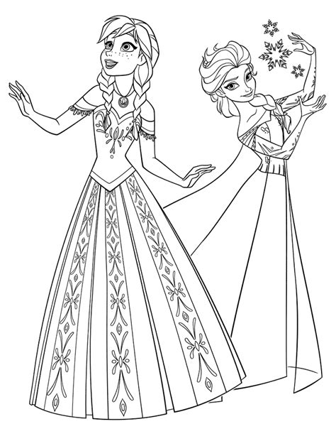frozen coloring pages for kindergarten frozen coloring pages 10 preschool projects