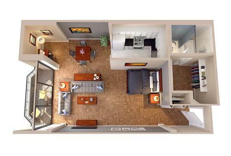 studio apartment 3d floor plans the consul floor plans columbia plaza apartments