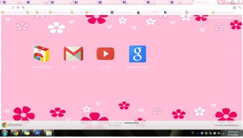 theme google chrome red popular pink chrome themes brand thunder