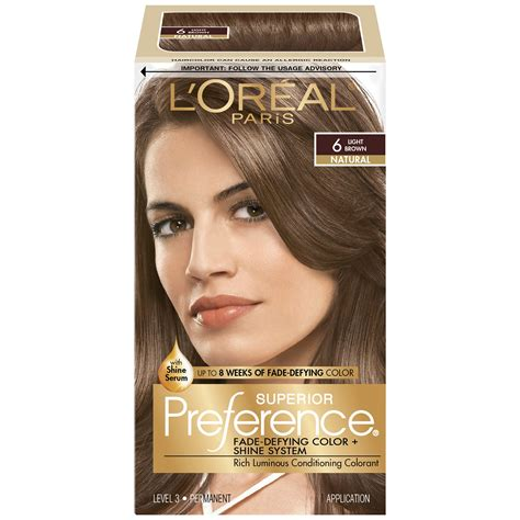 7a hair color l or 233 al superior preference permanent