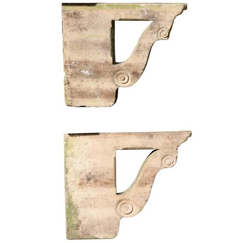 Porch Brackets For Sale pair of antique cotswold limestone porch brackets for sale
