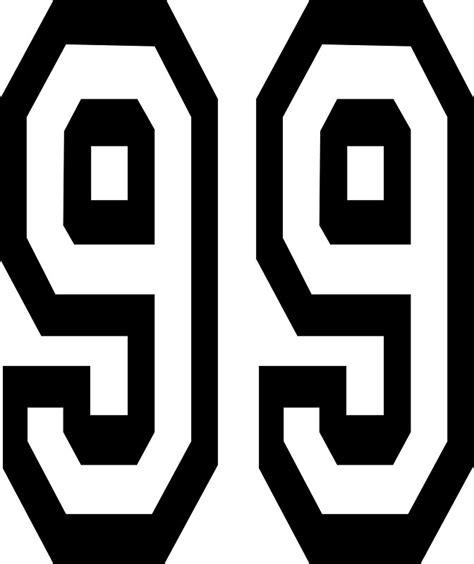 quot 99 team sports number 99 ninety nine competition
