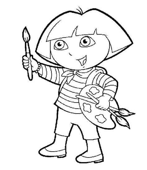 baby dora coloring pages صور تلوين للاطفال 2017 صور تلوين للاطفال 2017 صور دورا