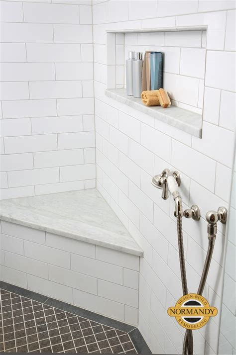 enhancing shower niches with decorative tile normandy