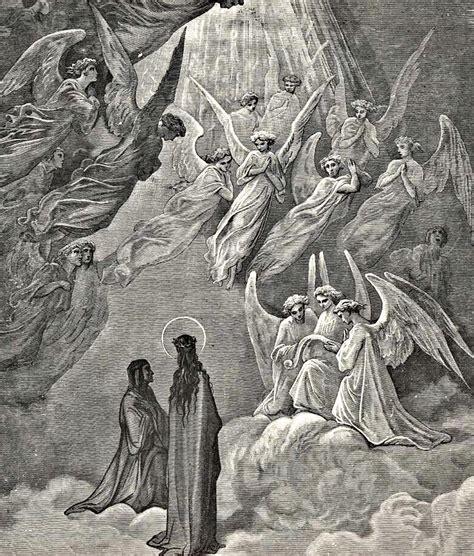Dore S Illustrations For Dante S Comedy in heaven dante s comedy illustration drawing by
