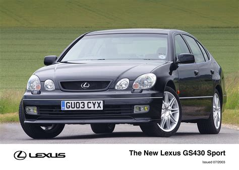 lexus gs300 sport the lexus gs300 and gs430 sport lexus uk media site