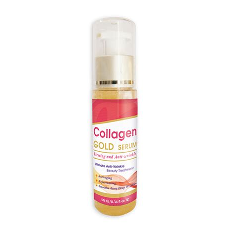 collagen gold serum firming and anti wrinkle dr green