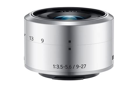 samsung 9 27mm f3 5 5 6 ed ois zoom lens for nx mini
