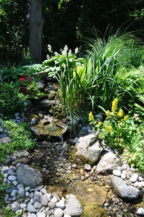 diy backyard stream the 25 best ideas about garden stream on pinterest