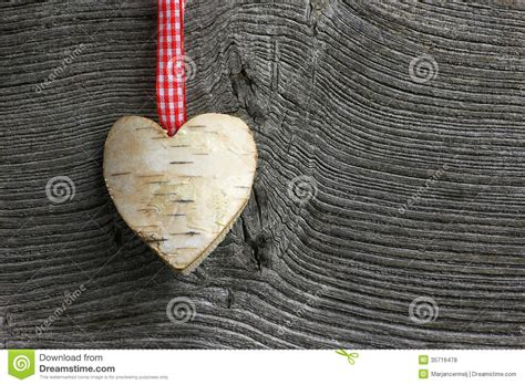 merry christmas decoration white birch heart gingham ribbon royalty  stock  image