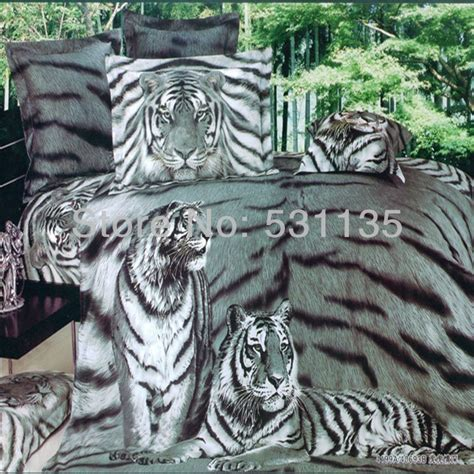 white tiger comforter image white tiger bedding comforter set download