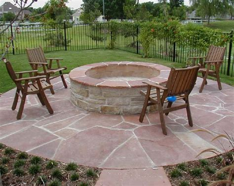 Backyard With Firepit Outdoor Pit Seating Ideas Corner