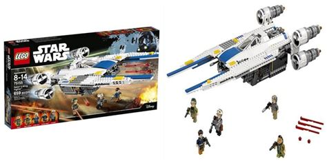 Lego Starwars 75155 Rebel U Wing Fighter lego wars rebel u wing fighter 75155 by lego 174 toys