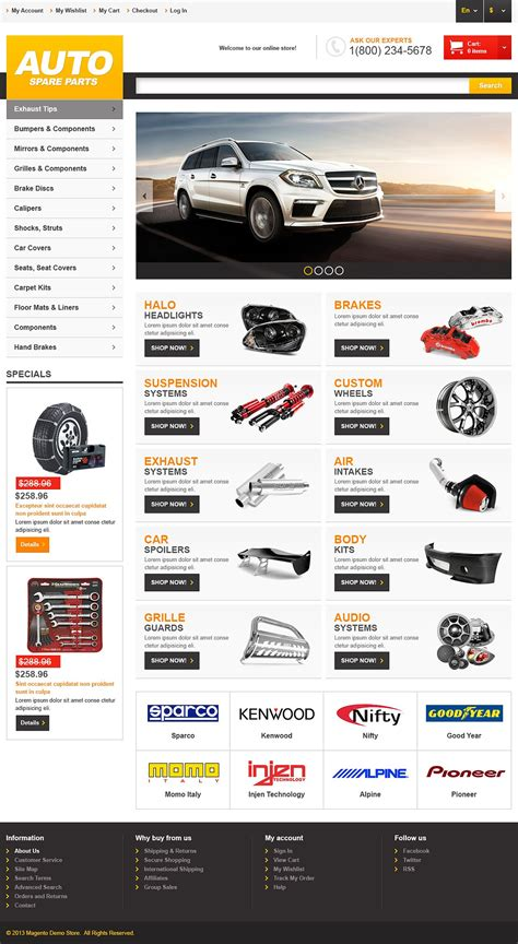 magento themes store 11 stunning responsive online vehicles stores magento themes