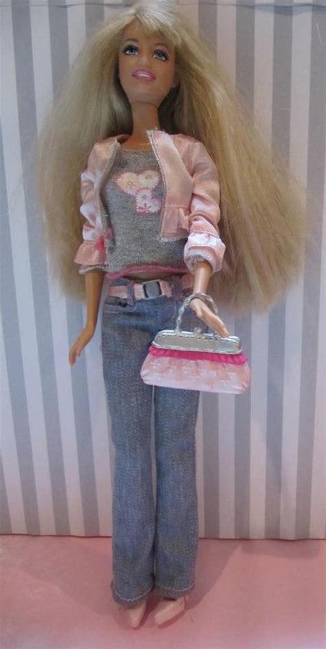 fold up doll house 2007 htf mattel barbie my house fold up doll house barbie