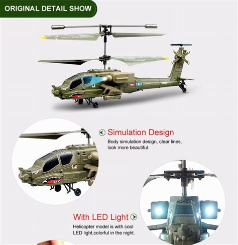 Beli Rc Helicopter Syma S109g 3 5ch Mini Helicopter Ready To Fly Best syma s109g mini 3 5ch rc helicopter ah 64 apache helicopter gunships simulation indoor radio