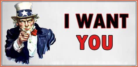 I Want You   i want you web developer keep it simple