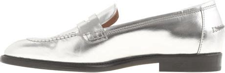j crew silver loafers j crew preorder collection mirror metallic loafers