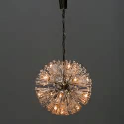 Dandelion Pendant Light Emil Stejnar 17 Light Dandelion Chandelier For Rupert Nikoll At 1stdibs