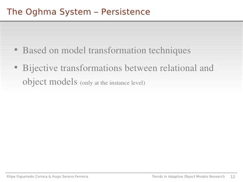 Language Reserach12 trends on adaptive object model research