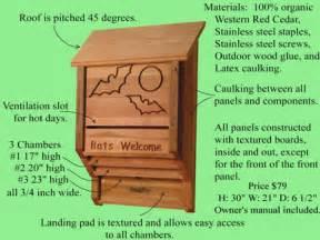 Plans For Building A Bat House Small Bat House Plans Bat House Plans Blueprints House Mexzhouse