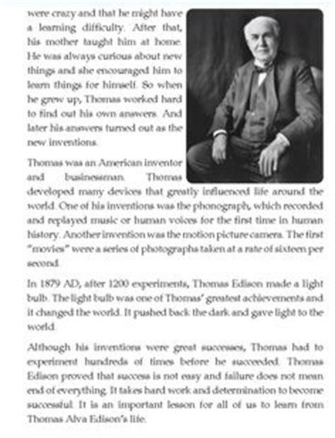 thomas edison biography for middle school literature grade 4 biography thomas alva edison 4