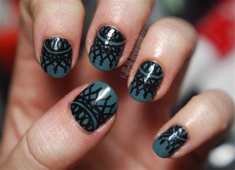 lace pattern nails beautiful lace nail art fashion fuz
