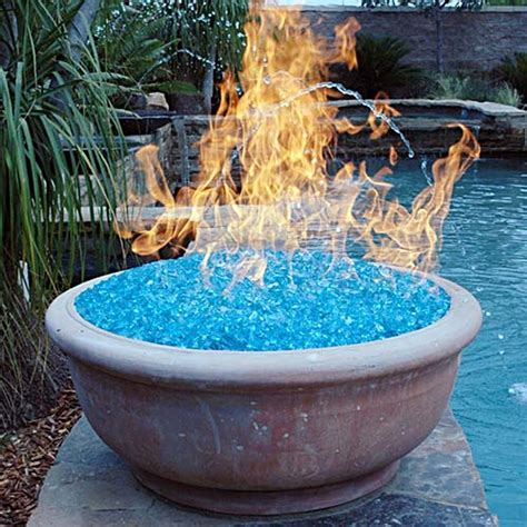glass for gas fire pit fireplace design ideas
