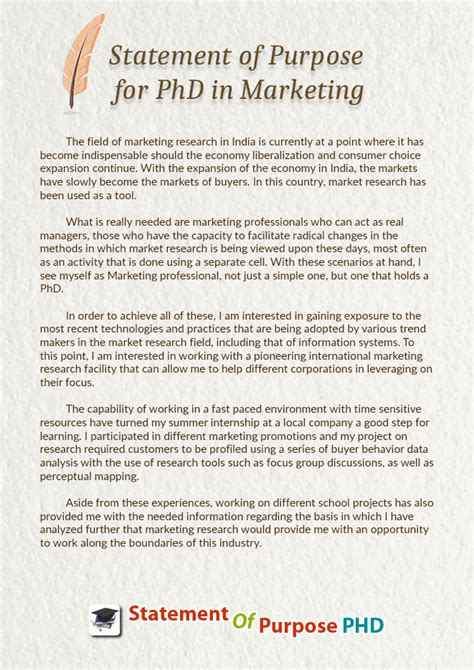 how to write a purpose statement for a research paper sle statement of purpose for phd in marketing on behance