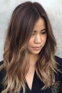 hairstyles for of color best 25 medium balayage hair ideas only on
