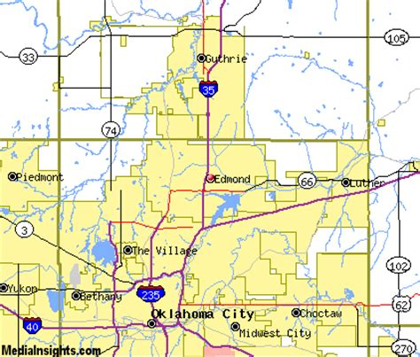 where is edmond oklahoma on the map 31 lastest map of edmond oklahoma swimnova