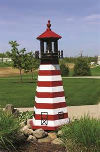 West quoddy wooden garden lighthouse by dutchcrafters