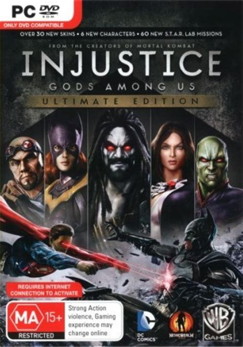 Injustice Gods Among Us Ultimate Edition Reg 1 gamespace11box gamerankings