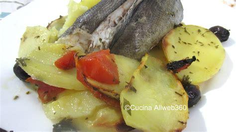 merluzzo al forno ricetta merluzzo intero al forno con patate