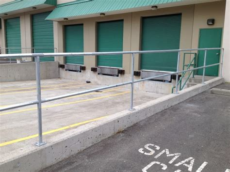 Galvanized Handrail by Steel Railings Qs Fencing Ltd