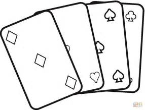 card coloring pages cards coloring page free printable coloring pages