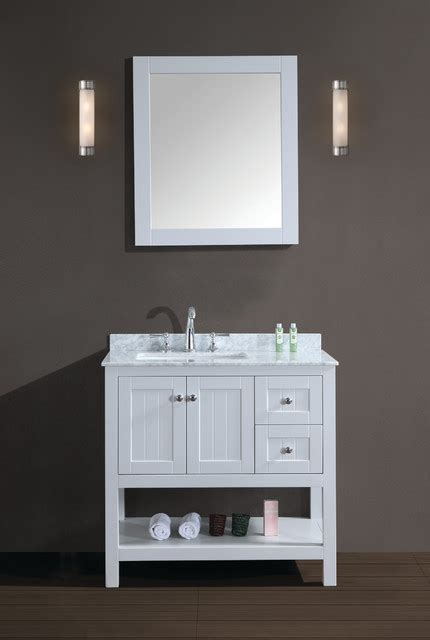 vanity by ari kitchen and bath contemporary bathroom
