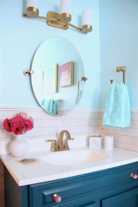 gold glam bathroom makeover surprise her with a chic valentine s day bathroom makeover