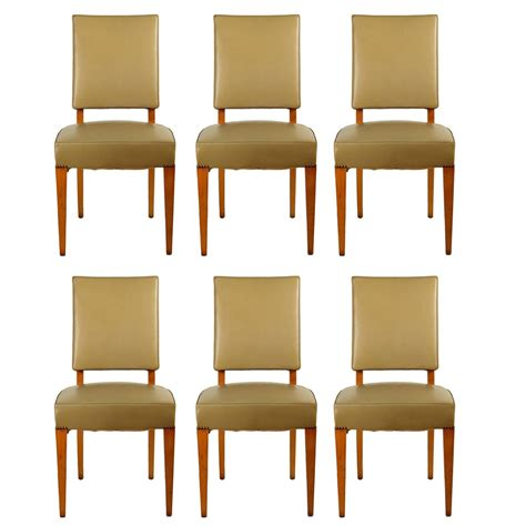 Ash Dining Room Furniture Maxime Set Of Six Dining Chairs In Ash For Sale At 1stdibs