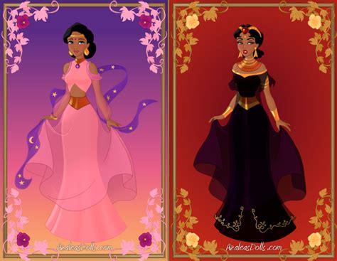 Gamis Azalea Dress arabian dress up by azaleasdolls on deviantart