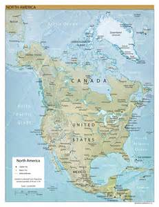 Map Of Norh America by Ucfindians Lesson Plans