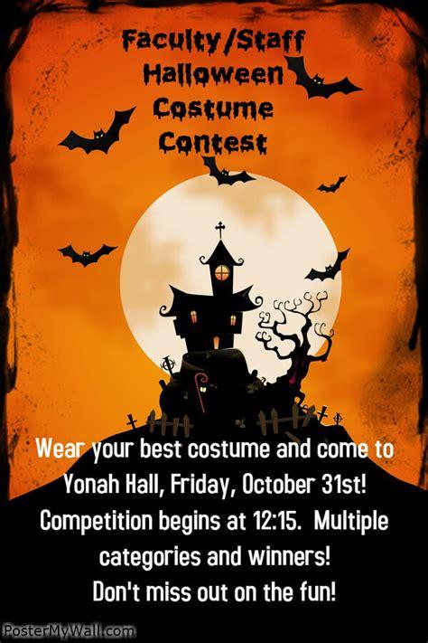 Halloween Costume Contest Flyer Template