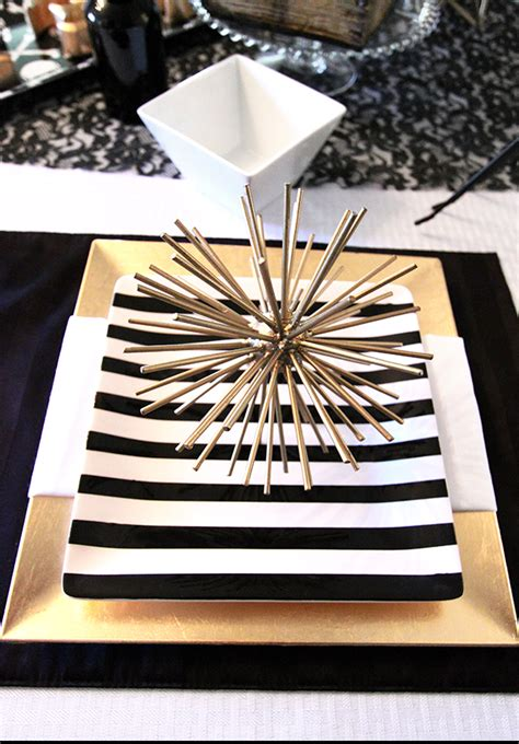 black and gold table 77 black and white wedding table setting
