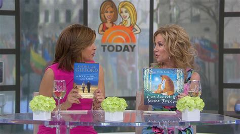 kathie lee gifford book kathie lee and hoda each have a new book out on the same