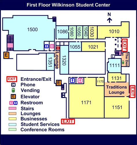 student center floor plan first floor byu wilkinson student center