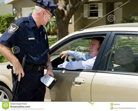 do cops to their lights on when radaring traffic stop stock photo image of