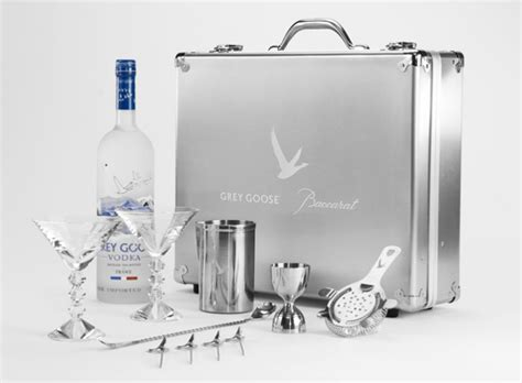 Grey Goose Tumbler Limited Edition limited edition martini kit by grey goose and baccarat amsterdam fashion tv