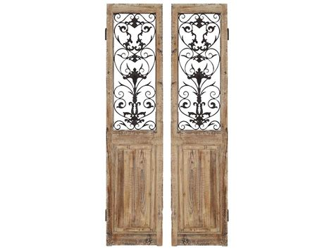 rustic room dividers paragon rustic doors 2 panel room divider two set 9407