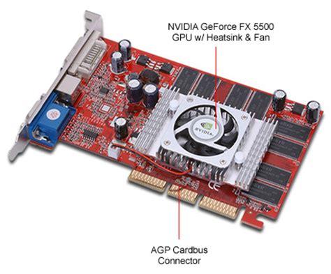 Vga Card Nvidia Geforce Fx 5500 nvidia geforce fx 5500 256mb ddr agp 8x dvi vga tv out card at tigerdirect